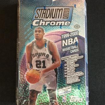 1999-00 Topps Stadium Club Chrome Basketball Hobby Box