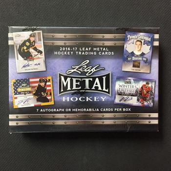 2016/17 Leaf Metal Hockey Box