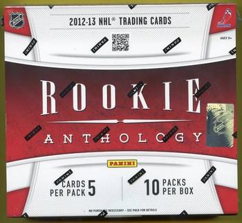 2012-13 Panini Rookie Anthology Hockey Hobby Box
