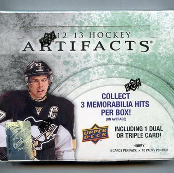 2012-13 Upper Deck Artifacts Hockey Hobby Box
