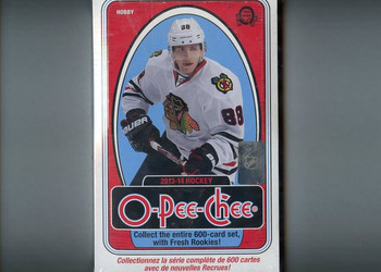 2013-14 Upper Deck O-Pee-Chee Hockey Hobby Box
