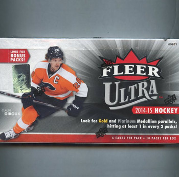 2014/15 Upper Deck Fleer Ultra Hockey Hobby Box
