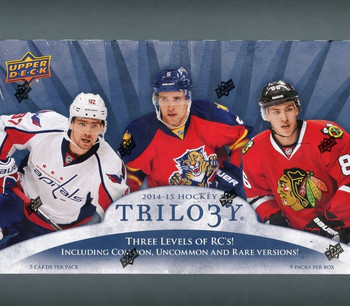 2014/15 Upper Deck Trilogy Hockey Hobby Box