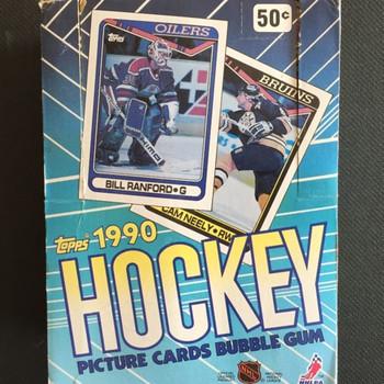 1990-91 Topps Hockey Box Hobby