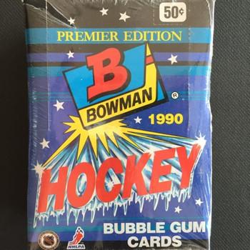 1990-91 Bowman Hockey Hobby Box