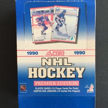 1990-91 Score Hockey Hobby Box