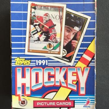 1991-92 Topps Hockey Box Hobby