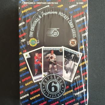 1990-91 Ultimate Original 6 Hockey Hobby Box