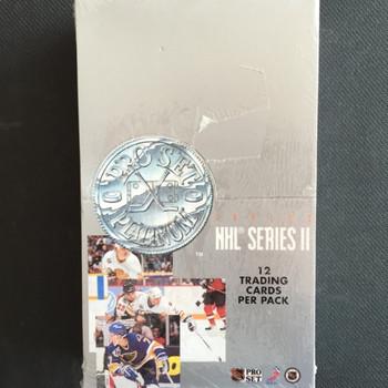 1991-92 Pro Set Series 2 Platinum Hockey Hobby Box