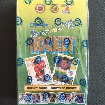 1992-93 O-Pee Chee Premier Hockey Hobby Box