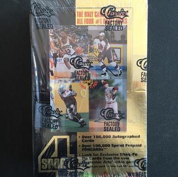 1994 Classic 4 Sport Hockey Hobby Box