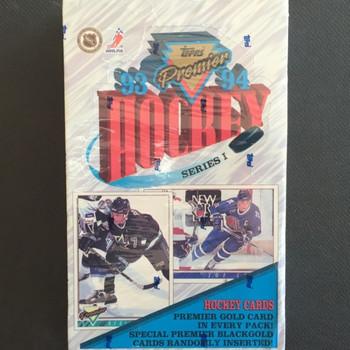 1993-94 Topps Premier Series 1 Hockey Hobby Box