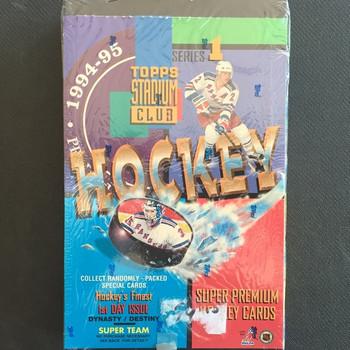 1994-95 Topps Stadium Club Series 1 Hockey Hobby Box