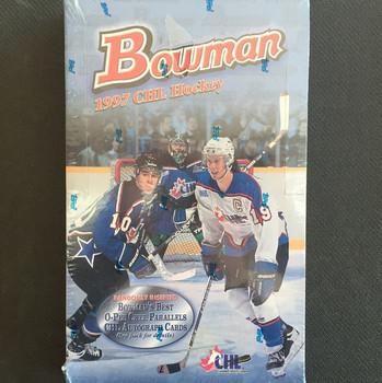 1996-97 Bowman CHL Hockey Hobby Box