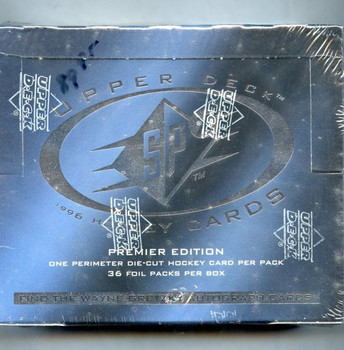 1996-97 Upper Deck SPX Hockey Hobby Box