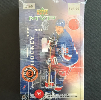 1998-99 Upper Deck MVP Hockey Hobby Box
