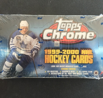 1999-00 Topps Chrome Hockey Hobby Box