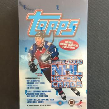1999-00 Topps Hockey Hobby Box
