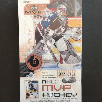 2002-03 Upper Deck MVP Hockey Hobby Box