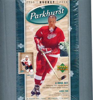 2005-06 Upper Deck Parkhurst Hockey Hobby Box