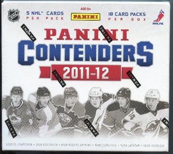 2011-12 Panini Contenders Hockey Hobby Box