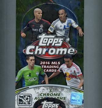 2014 Topps MLS Chrome Soccer Hobby Box