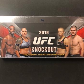 2019 Topps UFC Knockout Hobby Box