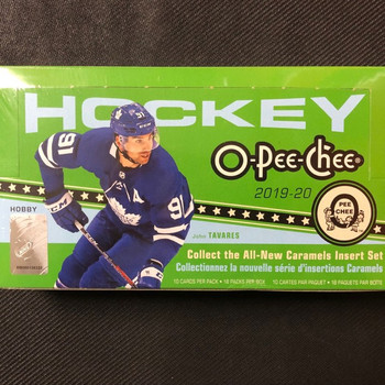 2019/20 Upper Deck O-Pee-Chee Hockey Hobby Box