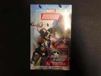 2016 Upper Deck Marvel Annual Box