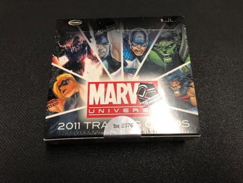 2011 Rittenhouse Marvel Universe Trading Cards Box