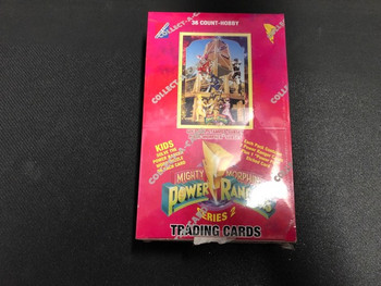 Mighty Morphin Power Rangers Series 2 Trading Cards Hobby Box