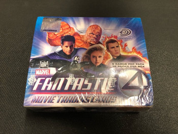 Upper Deck Fantastic 4 Movie Trading Cards Box