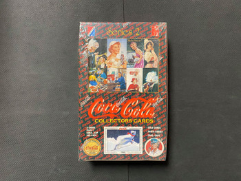 Coca Cola Series 2 Collectors Cards Box