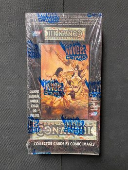 1995 Comic Images Series 3 Chromium Cards Box