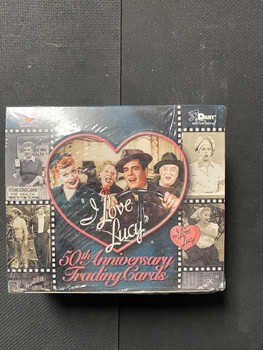 I love Lucy 50th Anniversary Trading Cards Box