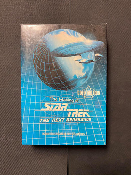 The Making of Star Trek The Next Generation Gold Edition Box