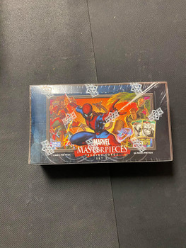 Upper Deck Marvel Masterpieces Set 3 Box