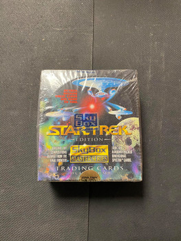 Star Trek SkyBox Master Series Factory Sealed Box