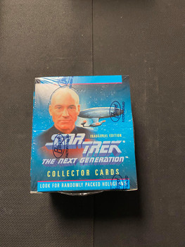 Star Trek The Next Generation Collector Cards Inaugural Edition Box