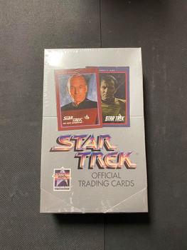 1991 Star Trek Official Trading Cards Box