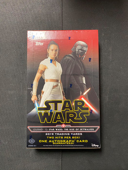 2019 Topps Star Wars The Rise of Skywalker Box