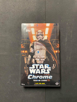 2016 Topps Star Wars Chrome Hobby Box Factory Sealed