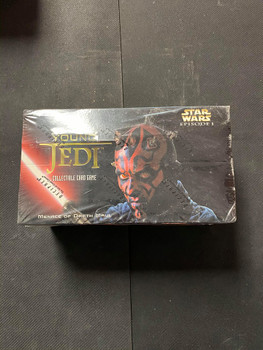 Star Wars Young Jedi Menace of Darth Maul Starter Deck Box (12 Cnt)