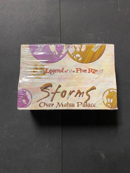 Legend of the Five Rings Storms Over Matsu Palace 2 Player Starter Deck Box of 6