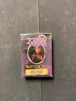 Xena Warrior Princess New With Battle Cry Cards Dirty Deeds Deck