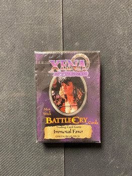 Xena Warrior Princess Now with Battle Cry Cards Immortal Favor Deck