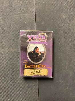 Xena Warrior Princess Rough Riders Deck