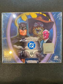 Marvel VS System DC Comics Origins Booster Box