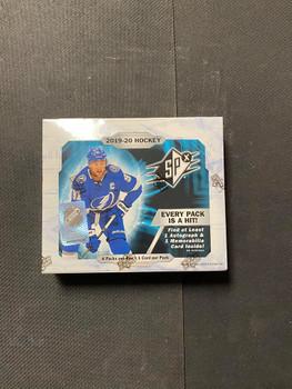 2019/20 Upper Deck SPx Hockey Hobby Box