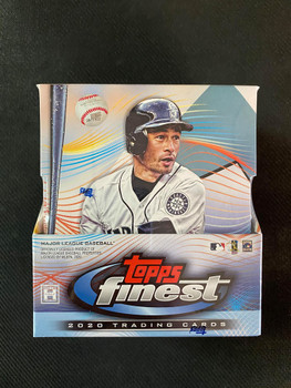 2020 Topps Finest Baseball Hobby Box